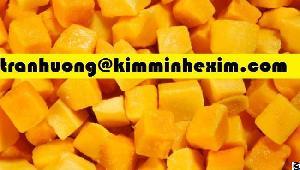frozen mango chunk dice puree
