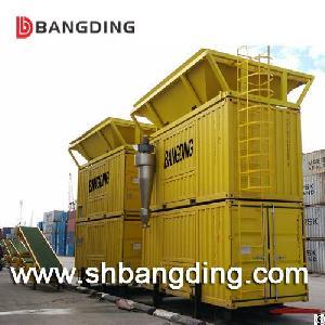 bangding portable weighing bagging machine harbor 50kg filling pack pp bags