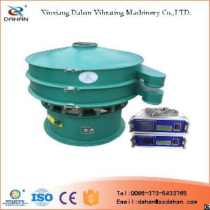 factory anti blocking circle ultrasonic filter sieve machine goat milk powder