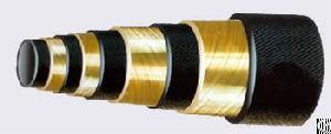 sae 100r13 four spiral wire hose hydraulic hoses rubber