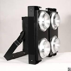 400w cob 4 heads led blinder light
