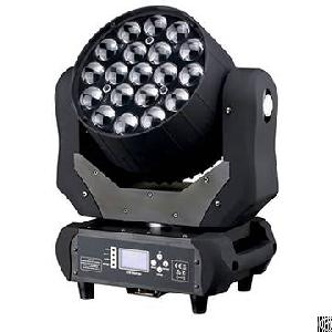 led moving head beam wash zoom 19x15w rgbw 4in1 stage tv theater dj show
