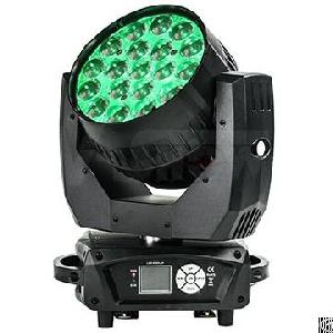 Mac Aura 19x15w Rgbw 4in1 Led Moving Beam Wash Zoom Light With Backlight Effect