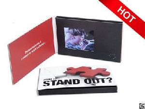 print 2 4 lcd video card personal presentation gifts vbc 024