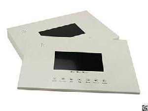 diy video brochure mailer lcd player module fun technology