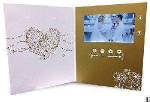 Funsuper Hd Video In Print Brochure Lcd Booklet Greeting Cards For Company Gifts