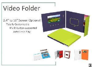 Custom Video Print Brochure Giveaways For United States Advertising Agencies