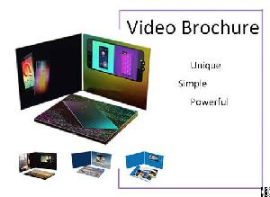 promotional lcd video brochure samples factory supplier