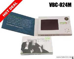 rechargeable 2 4 video card vbc 024 merry christmas gift