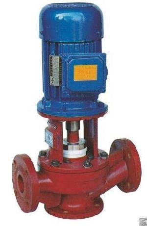 sl vertical fiberglass plastic centrifugal pump