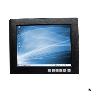 Industrial Panel Monitor With 12.1 Inch Lcd Touch Screen Vga Dvi