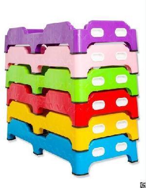kindergarten equipment children plastic lunch noon break bed thicken kid beds