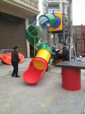 Ylw Exported Replacement Outdoor Playground Slide Accessories, Plastic Tube Slide