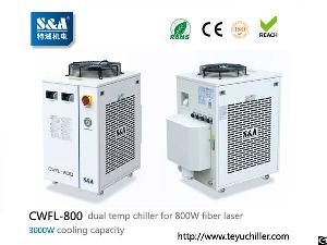 laser chiller cwfl 800 cooling 800w fiber cutting machine