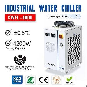 Sa Refrigeration Water Chiller Cwfl-1000 With Dual Waterways
