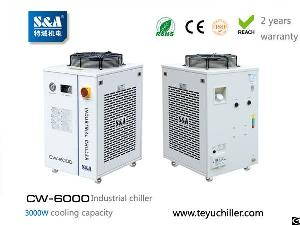 water chiller cw 6000 3kw cooling environmental refrigerant