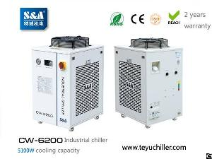 water chiller system cw 6200 5 1kw cooling
