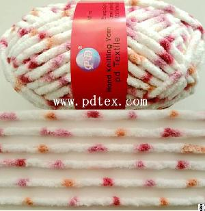 yarn wool fancy chenille hand knitting