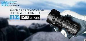 imalent dt35 utilizes cree xhp35 hi leds built usb charging interface