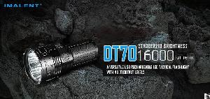 Imalent Dt70, A Versatile Usb Rechargeable Led Tactical Flashlight With Multi-level Output And Ole