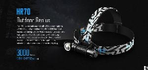 hr70 versatile magnetically usb charged headlamp