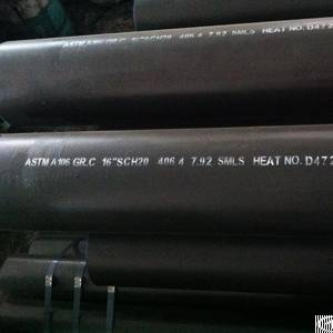 ansi b36 10 carbon steel pipe a106 gr c 16