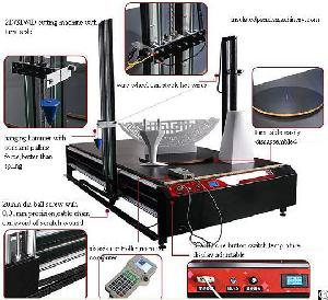 cnc foam 3d cutting machine rotary table