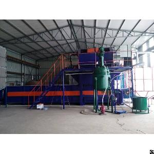 modified eps coating machine fire proof insulation