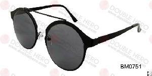 Metal Plate Brass Sunglasses Bm0751