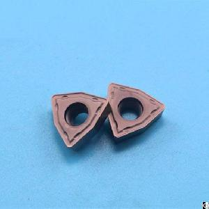 Cemented Carbide Indexable Inserts For Drilling With Excellent Endurance