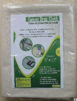 Cotton Drop Cloth 6x9 Ft 5x12ft