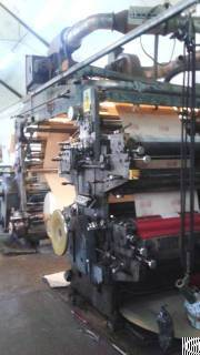 Four Color Flexographic Printing Machine Stack Type