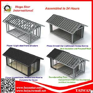 assembly green building energy saving insulation fireproof soundproof houses