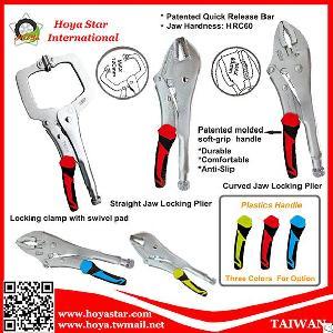 Straight Jaw Curved Jaw Locking Plier Locking Clamp