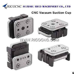 cnc vacuum suction cup block pods ptp processing machines