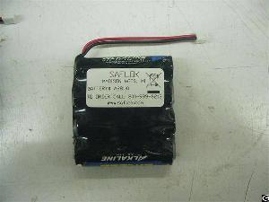 saflok a28110 replacement battery electronic door locks perma
