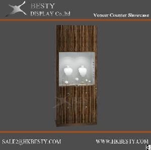 led wall diaplsy case jewelry watch lockable door