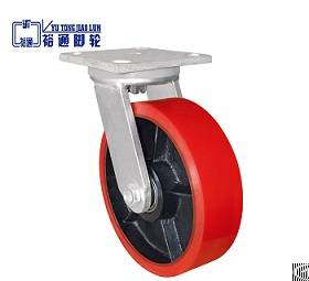 heavy duty pu caster