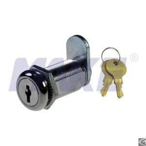 Zinc Alloy 35.3mm Wafer Key Cam Lock, Spring Loaded Disc Tumbler