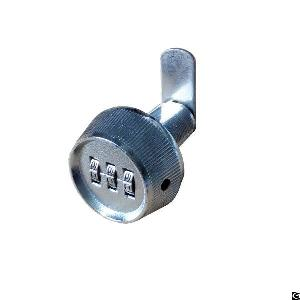 zinc alloy digit lock bright chrome override key