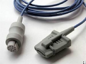 nihon kohden spo2 sensor 10pin adult finger clip probe
