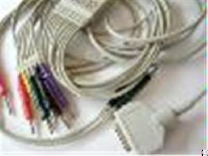 wholesale medical kanz pc 104 ekg cable 10 leads