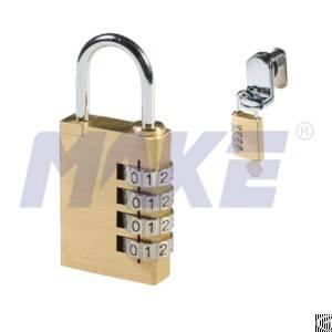 4 digit locker lock