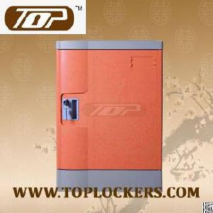 four tier abs plastic club locker smart interior