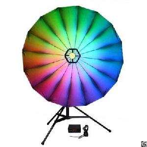 disco light led umbrella background phh036