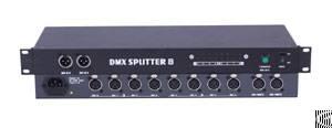 signal distributor amplifier in2 out8 dmx splitter phd018