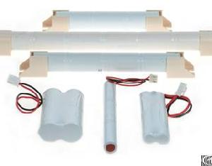 lighting battery packs equipped fixtures connectors customized requested