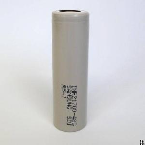 samsung 21700 48g 4800mah drain 10a discharge 3 6v rechargeable li ion battery