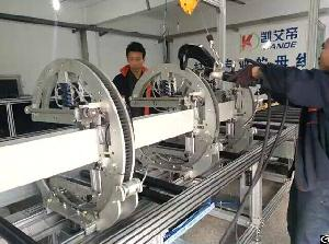 compact busduct assembly line busbar fabrication machine busway clamp clinching