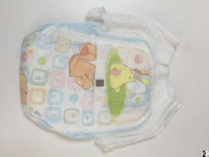 Oem Company All-side Lelak Guard Colorful Backsheet Adult Baby Pull Up Diapers